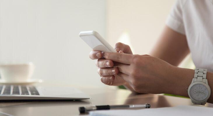 Français font leurs achats directement sur leur smartphone